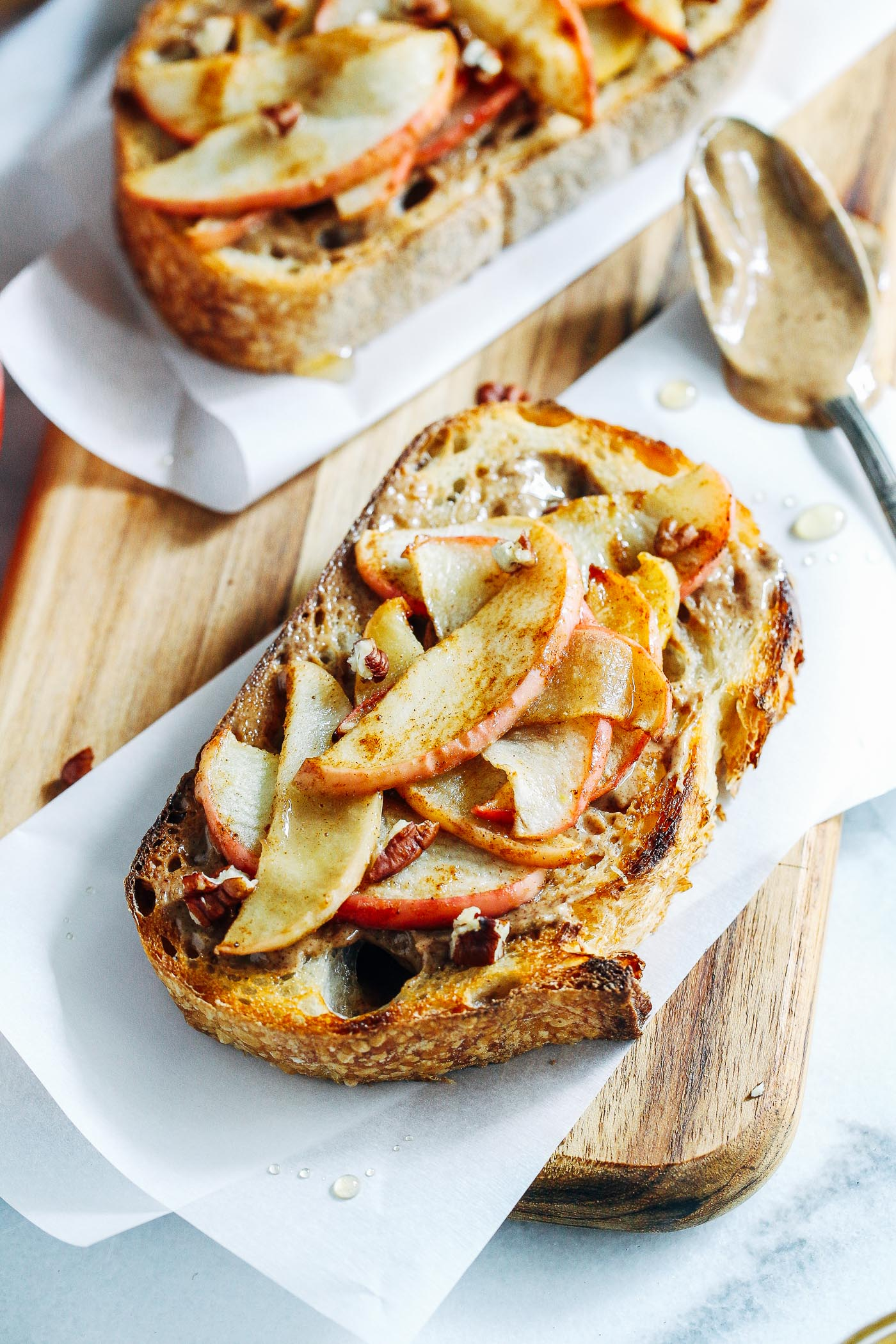 Gingered Apple And Almond Butter Toast A Giveaway