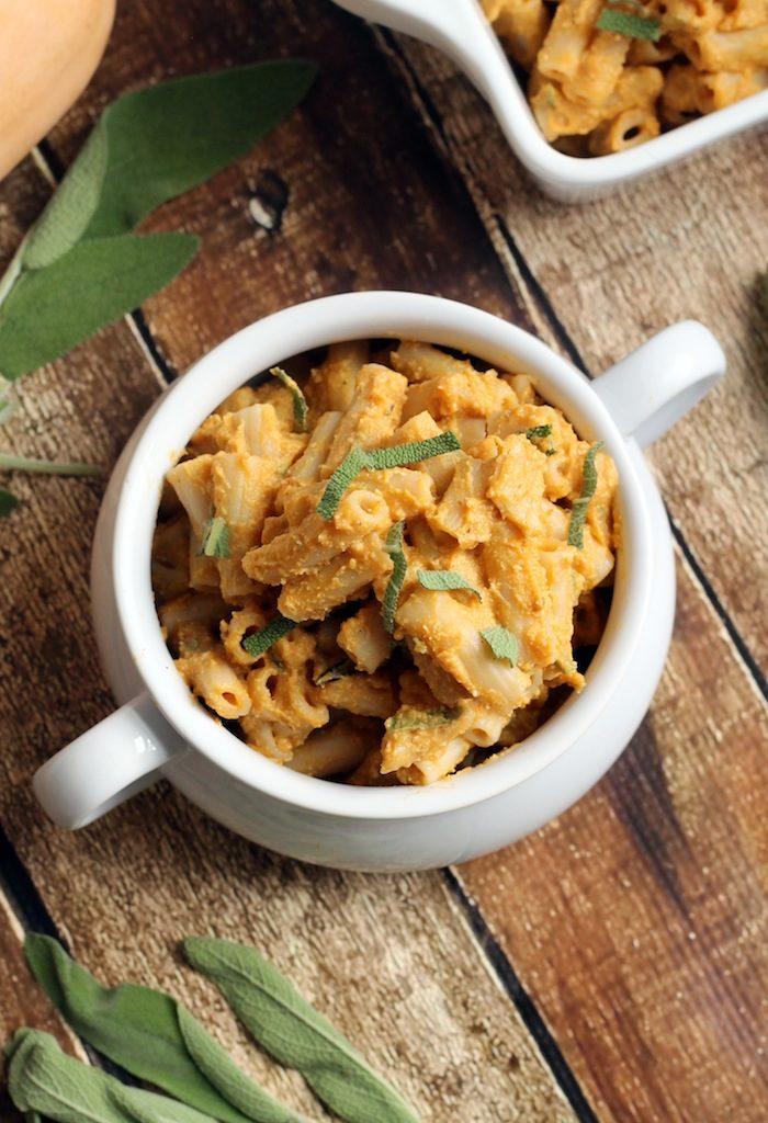 Vegan Butternut Squash Pasta from Hummusapien