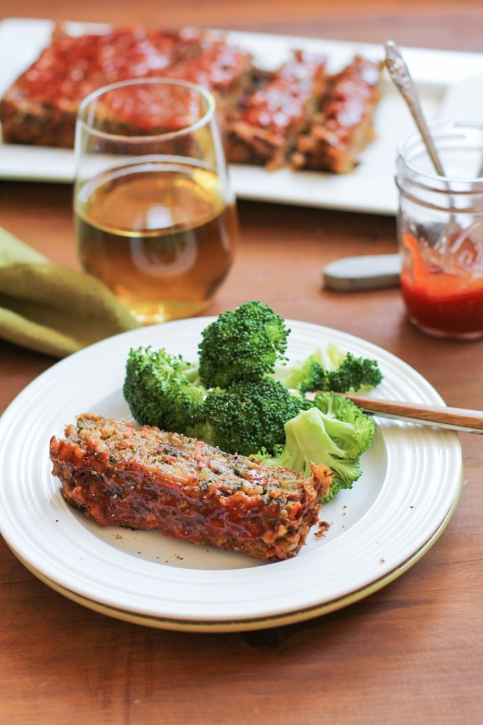 Thai Lentil Vegan Meatloaf from The Roasted Root