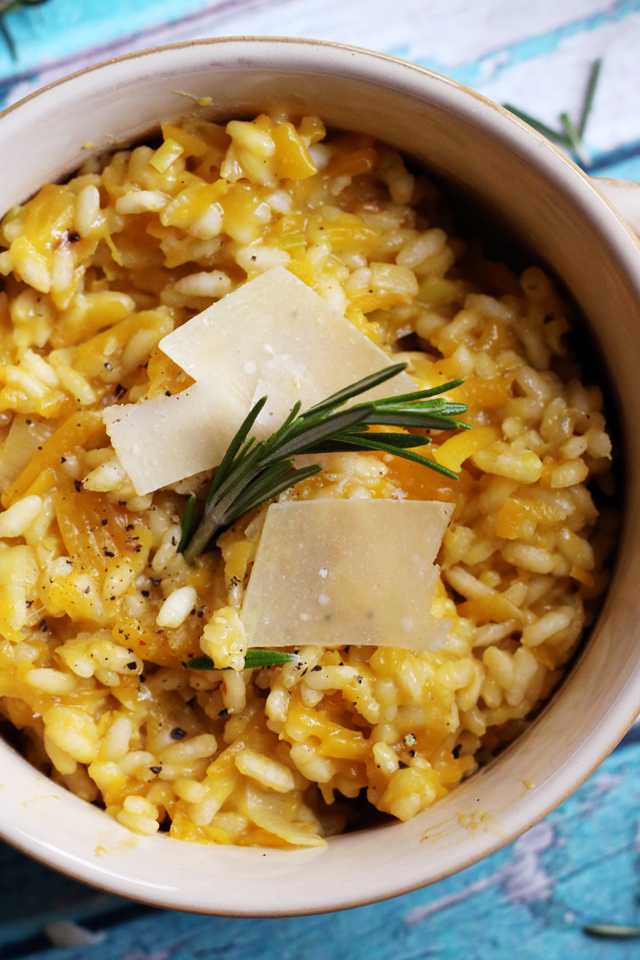 Butternut Squash and Rosemary Risotto from Eats Well With Others