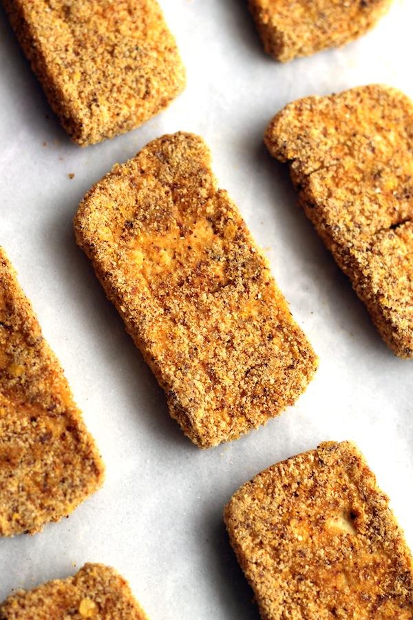 Crispy Baked Tofu Fingers from Hummusapien