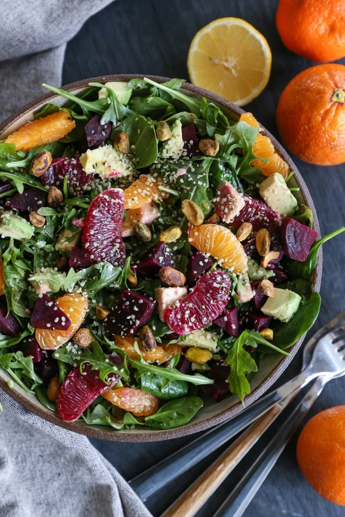 Winter Citrus Roasted Beet Salad from The Roasted Root