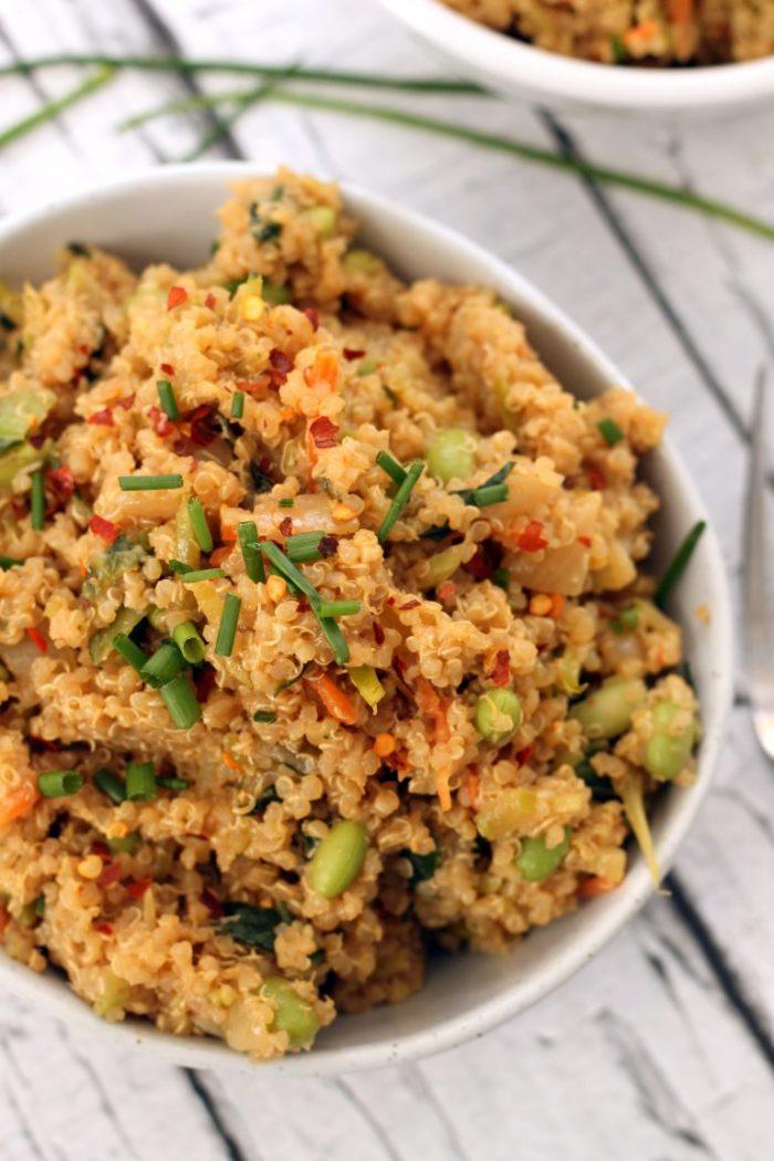 Thai Quinoa Fried Ricefrom Hummusapien