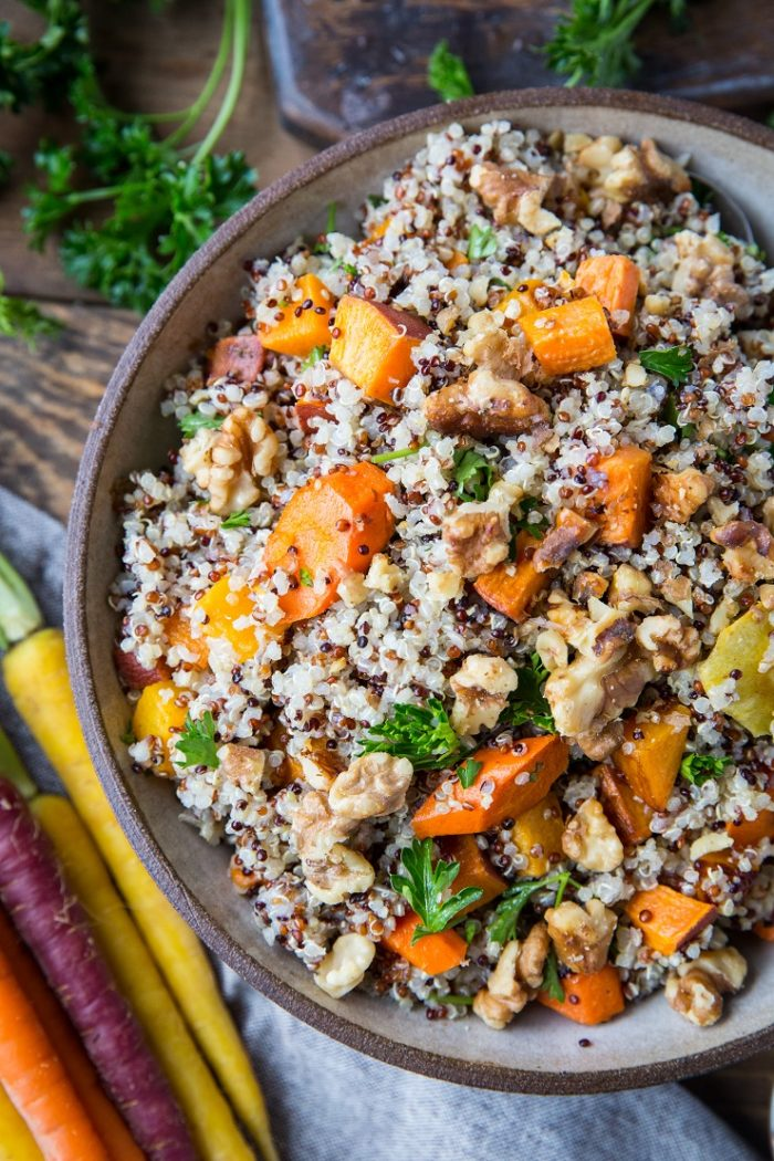 Roasted Winter Vegetable Quinoa Salad from The Roasted Root