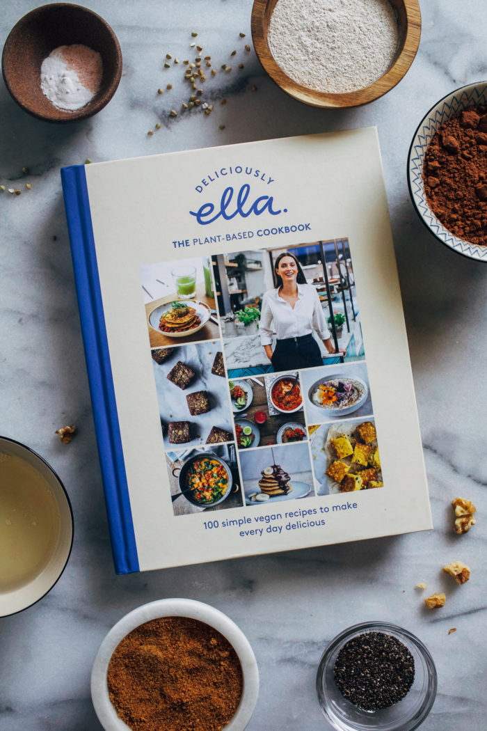 Ella's Fudgy Brownies- adapted from the new cookbook Deliciously Ella, all you need is 8 wholesome ingredients to make these scrumptious vegan brownies!