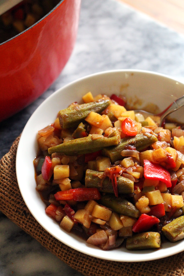 Indian Ratatouille from Eats Well With Others